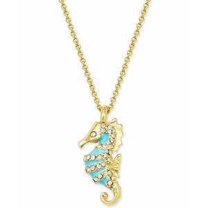 KATE SPADE Paradise Found Seahorse Necklace